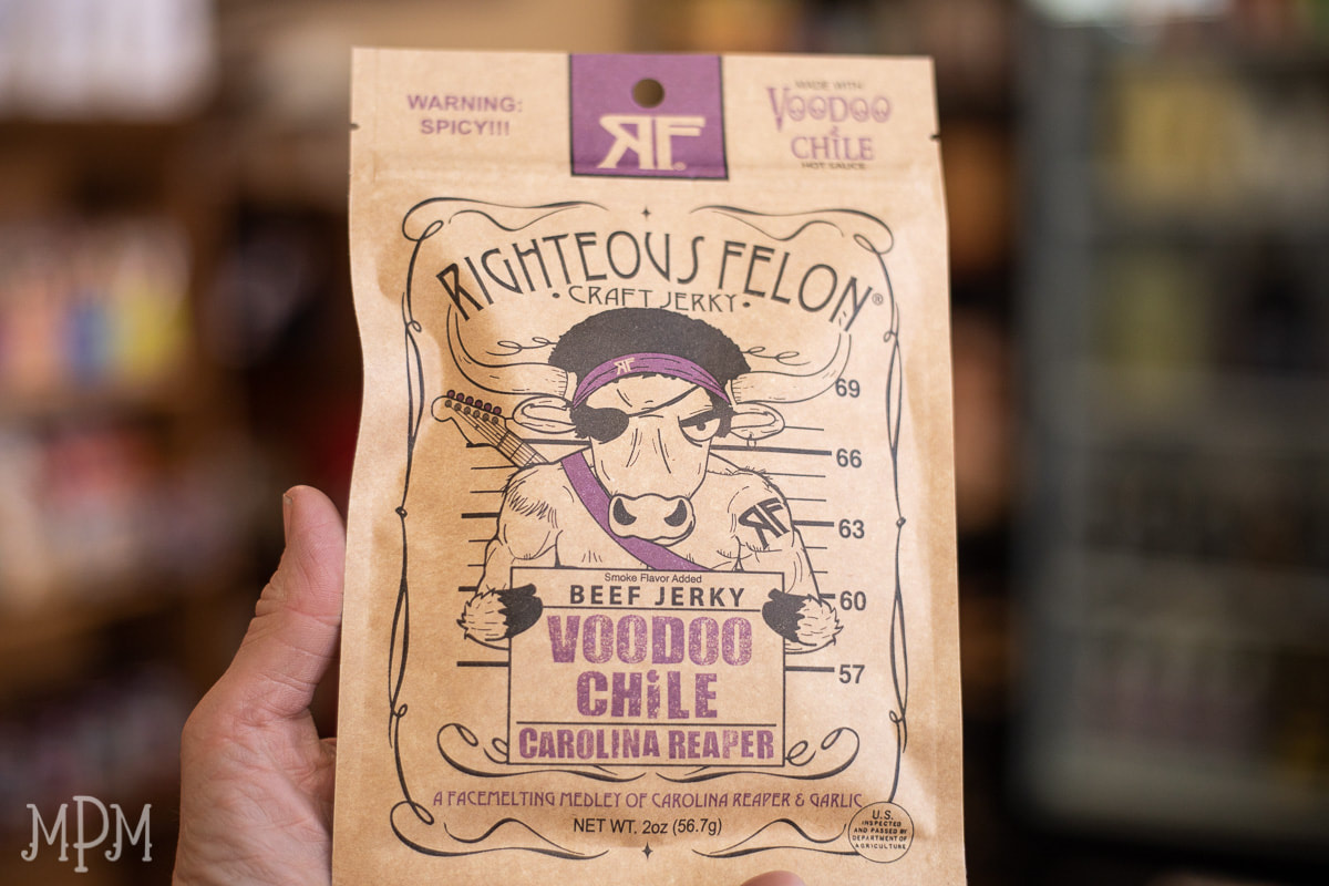 Voodoo Chile Craft Beef Jerky - Righteous Felon