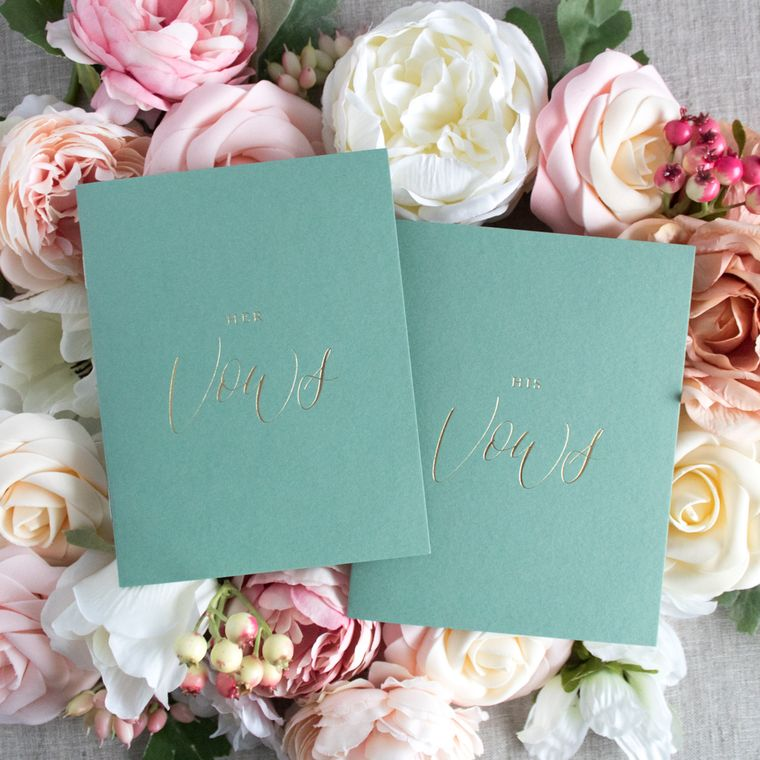 Green Vow Books HERS & HERS