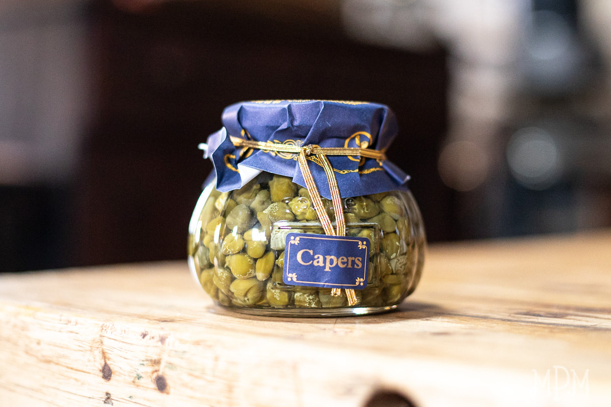 All Natural Capers in Brine by Coquet