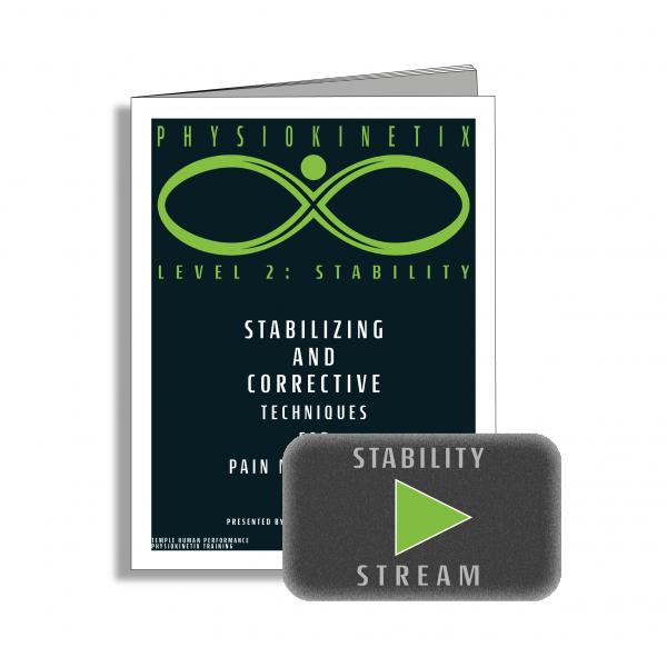 Physiokinetix Level 2 Stability (Video Streaming + Digital Workbook)