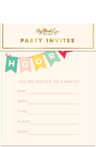 Hooray Invitations