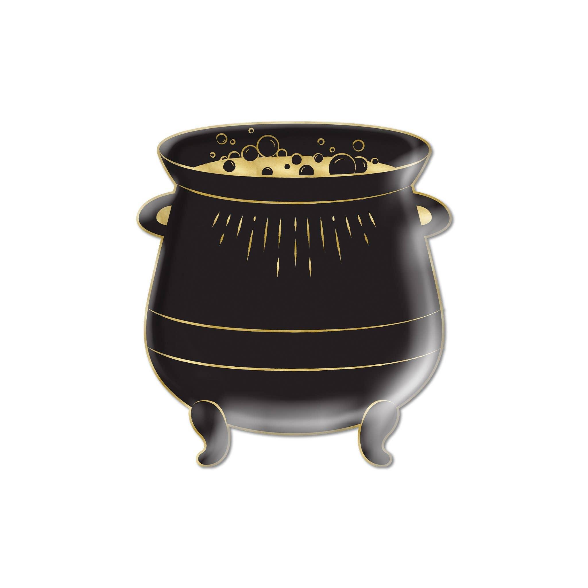 "Spellbound Cauldron Shaped 9"" Plate"