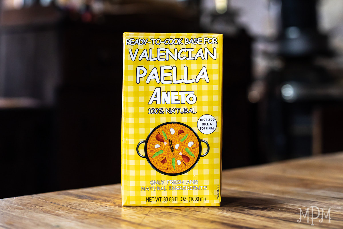 Aneto Cooking Base for Valencian Paella - 34fl oz - Matiz Españ