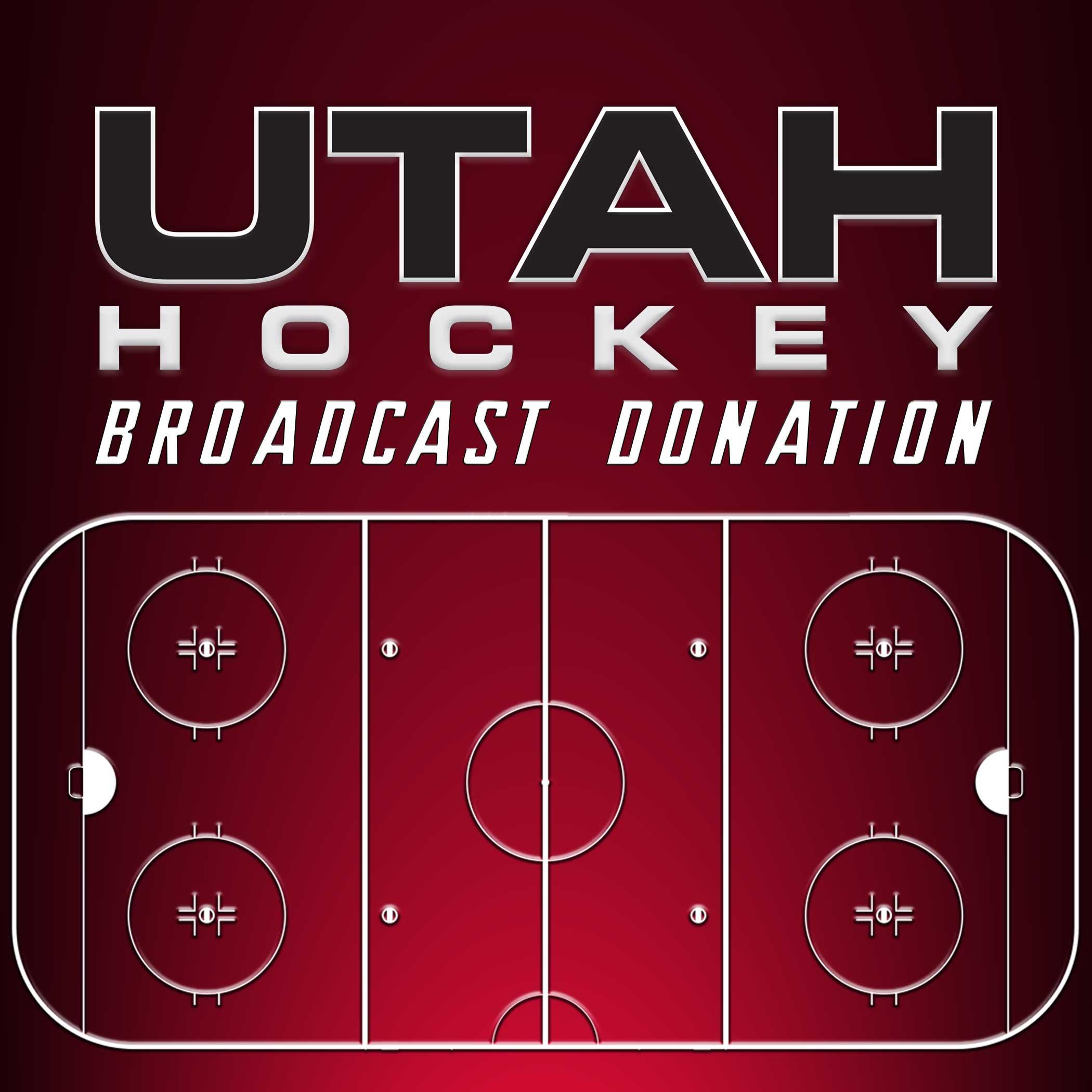 2021 Utah Hockey Broadcast Donation