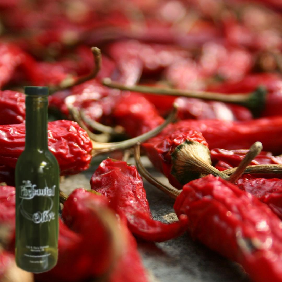 Fused Smoked Chaabani Chili Olive Oil
