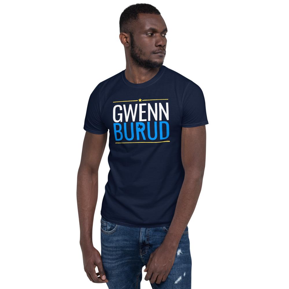 Cotton Navy Gwenn Burud T-Shirt