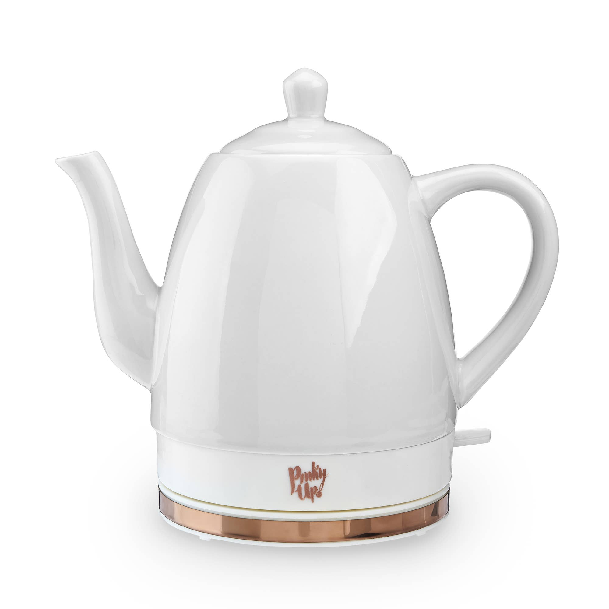 Noelle™ Grey Ceramic Electric Tea Kettle by Pinky Up®