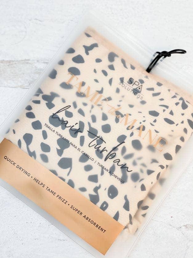 Hair Turban - Cheetah