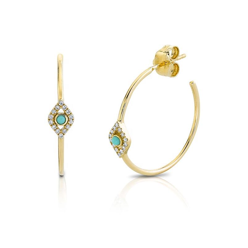 Amity Turquoise Earrings