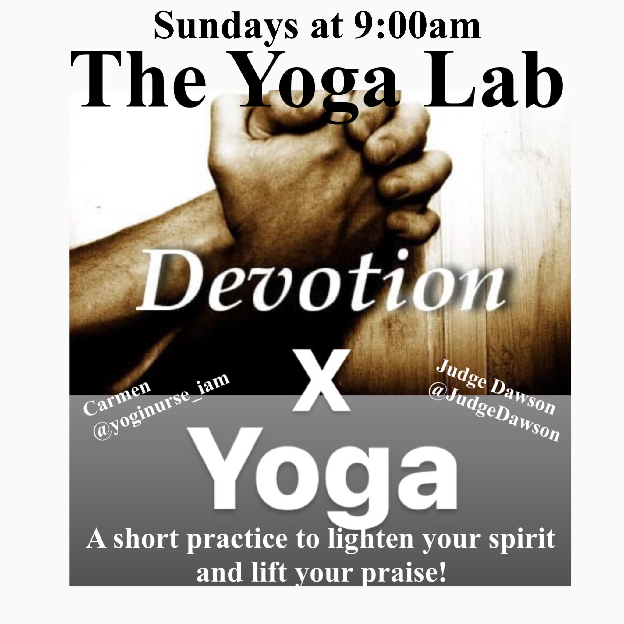 """Devotion"" x Yoga"
