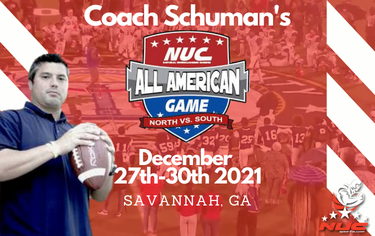Coach Schuman's NUC Sports All American Game December 27th-30th 2021 Savannah, GA