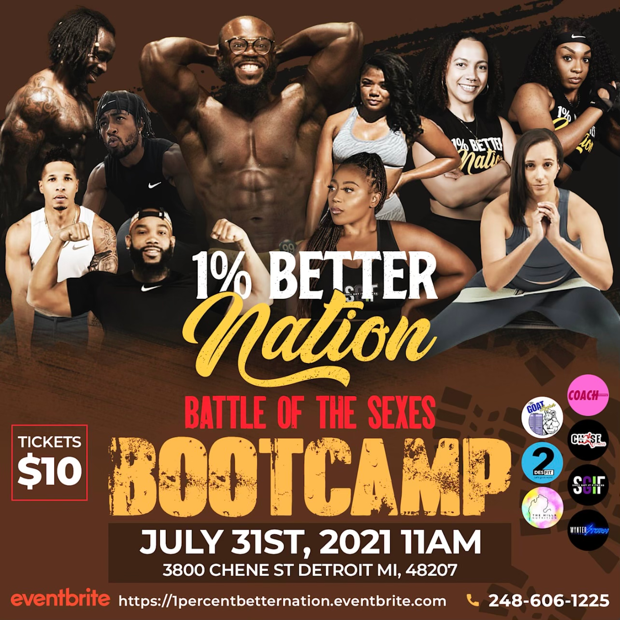 1% Better Nation Battle of the Sexes Mega Bootcamp