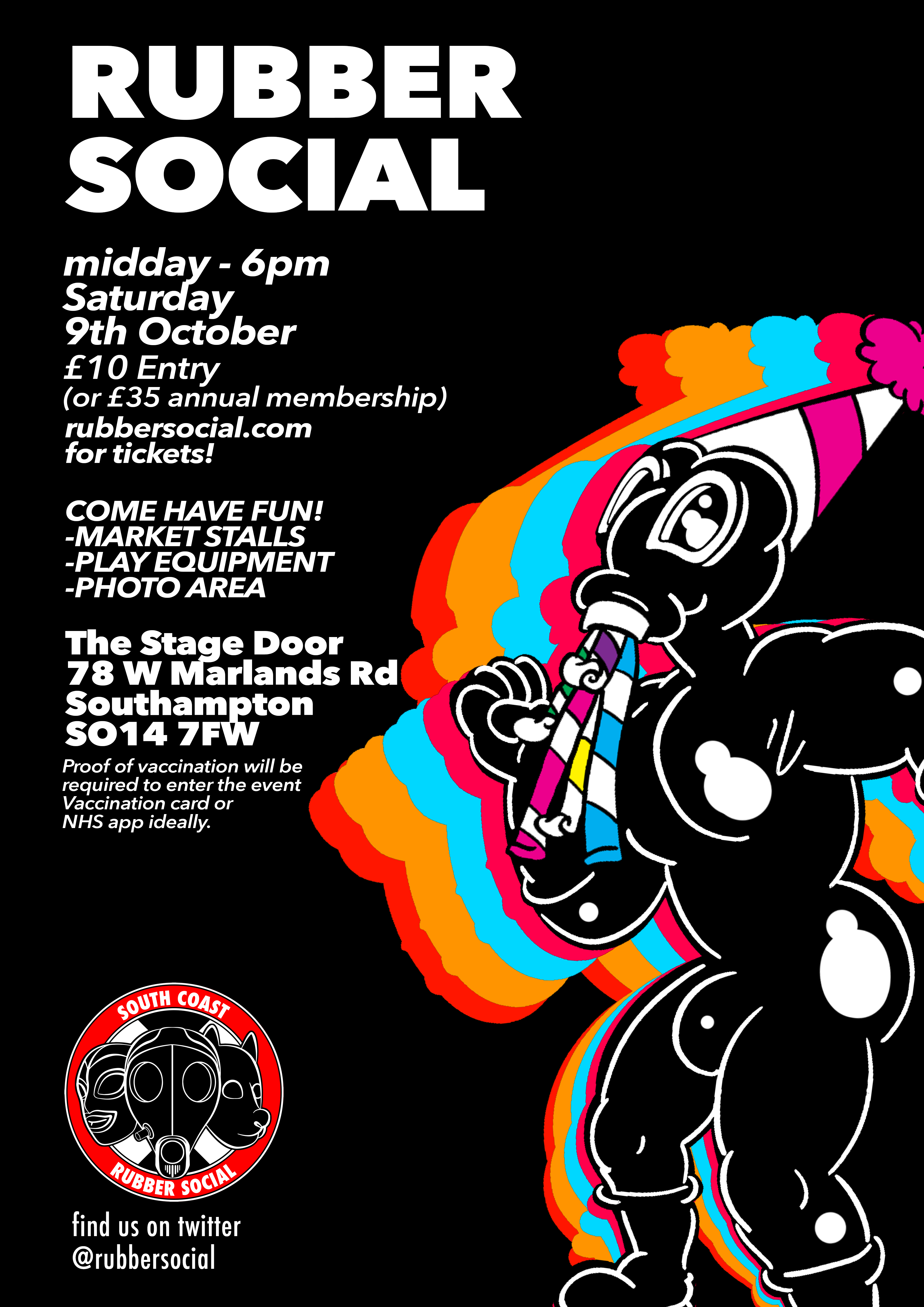 October 9th 2021 RubberSocial