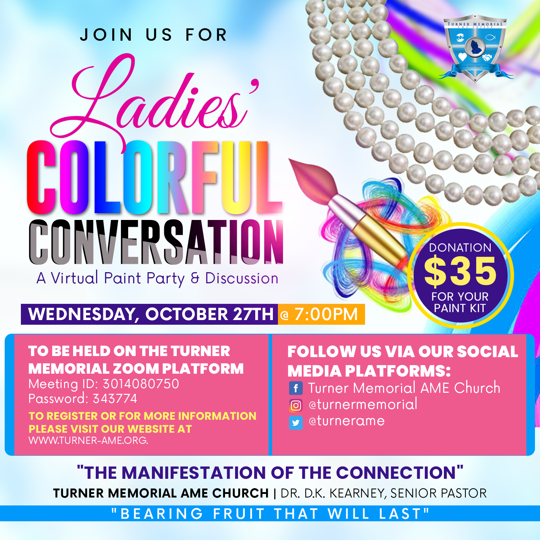 Ladies' Colorful Conversation