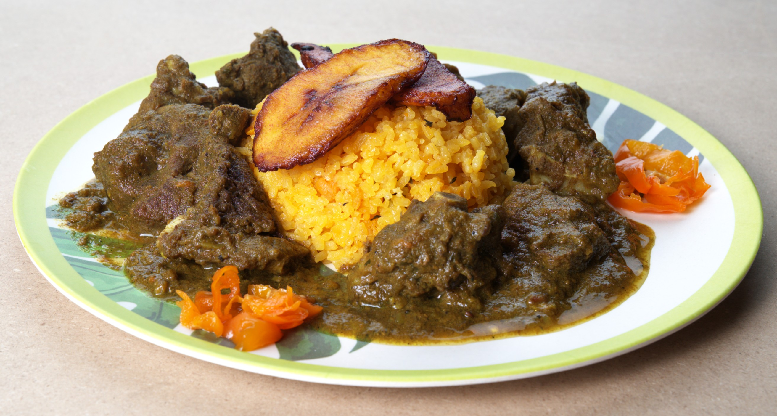 Curry Goat Main
