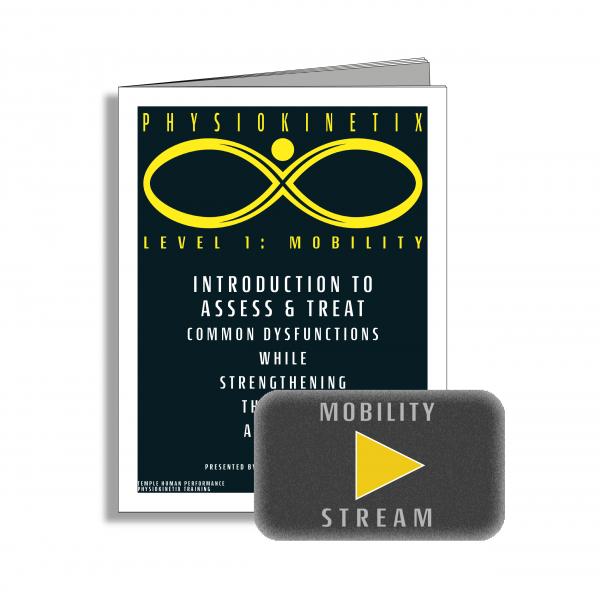 Physiokinetix Level 1 Mobility (Video Streaming + Digital Workbook)