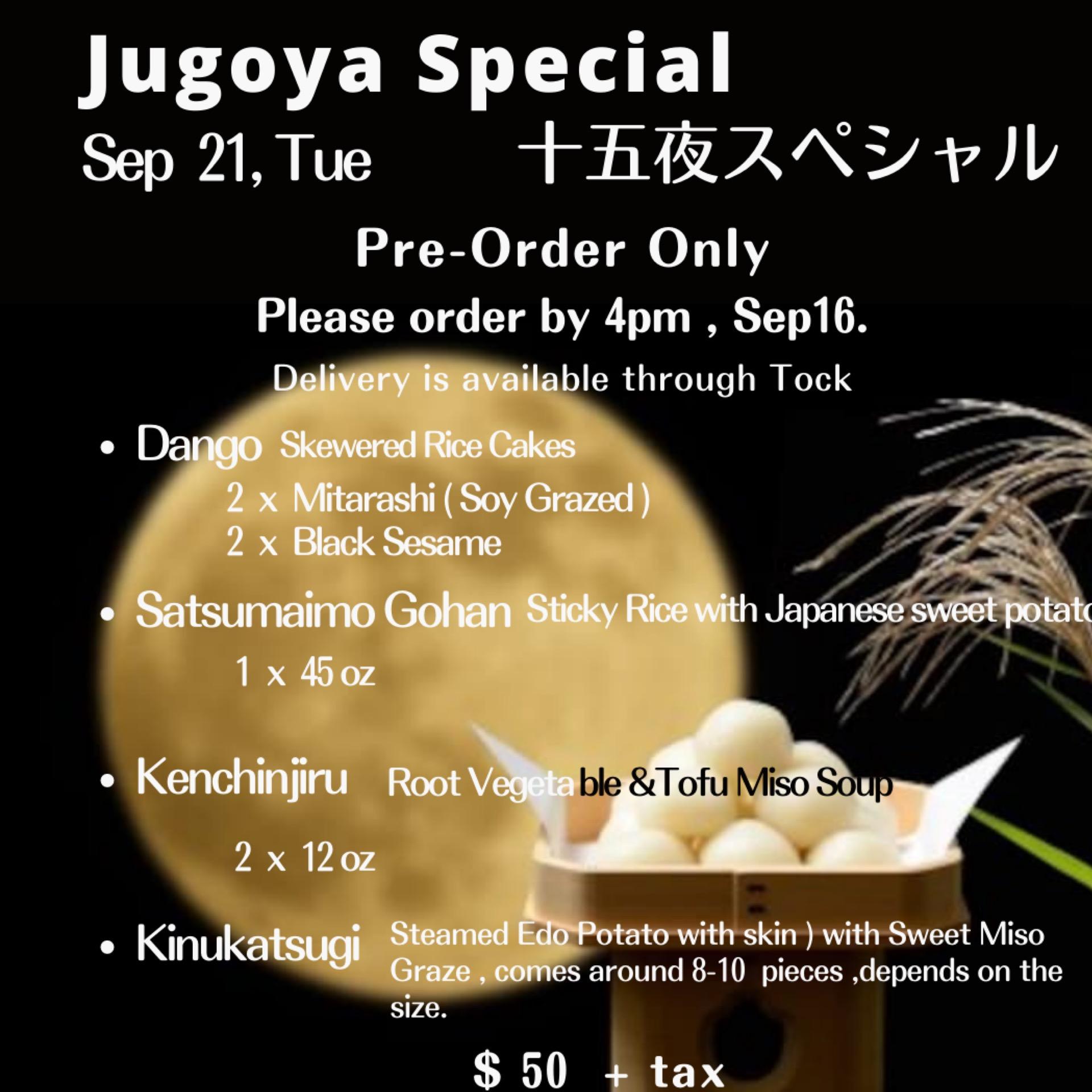 Jugoya Special