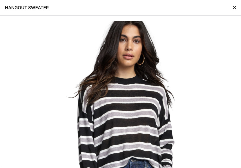 RVCA Hangout Sweater BLK