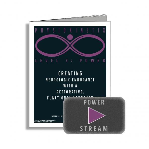Physiokinetix Level 3 Power (Video Streaming + Digital Workbook)