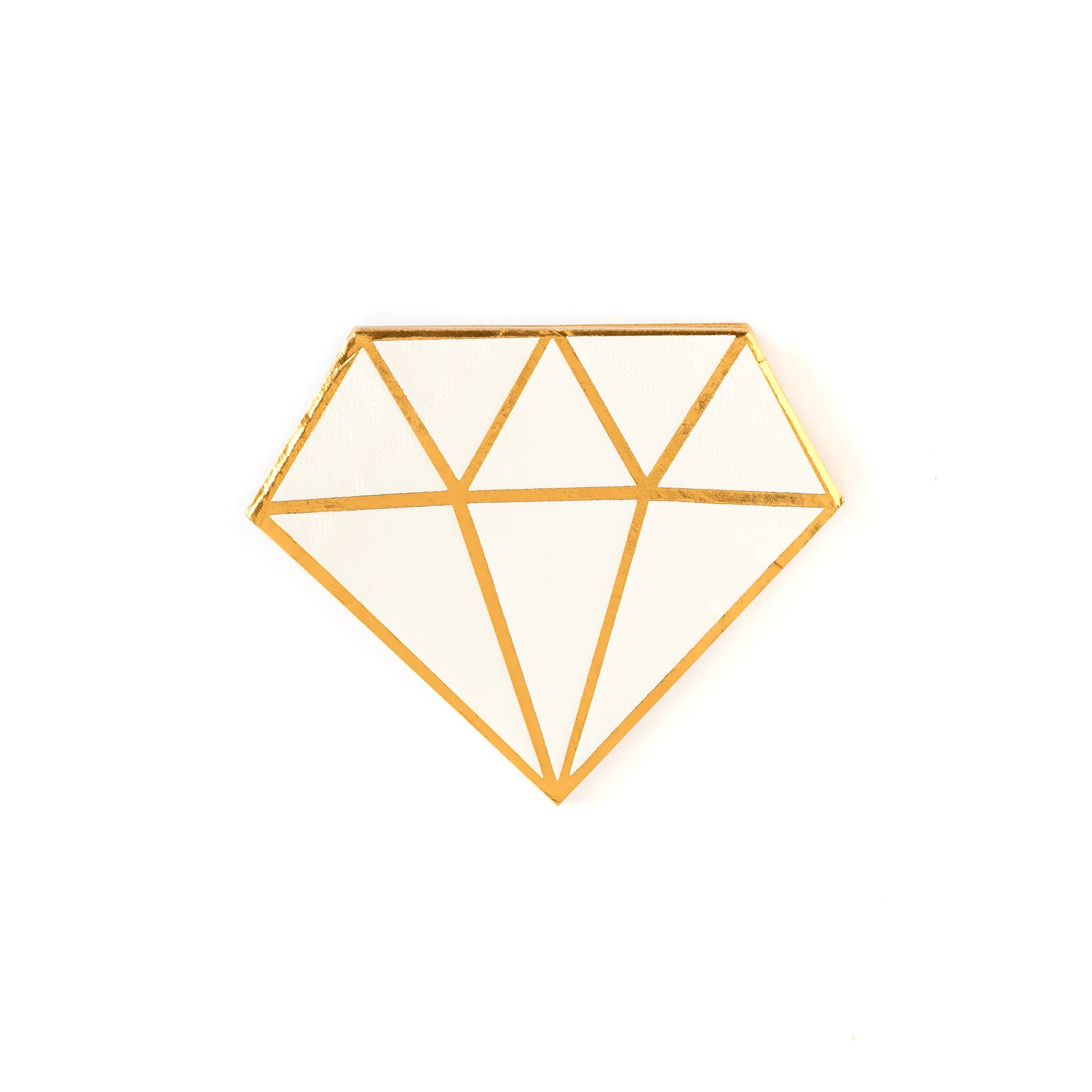 """Bride to Be Diamond 5"""" Napkins"""