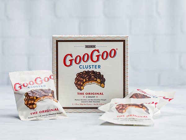 Goo Goo Cluster - Original 3 Count Box in Winslow Arizona