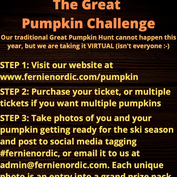 Great Pumpkin Challenge