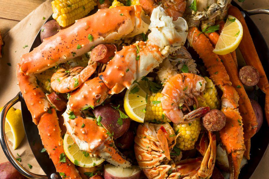 Snow Crab & Shrimp / 蟹脚 & 虾