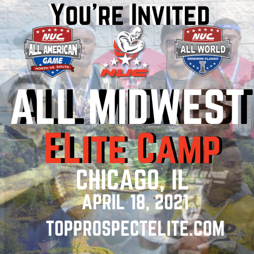 Coach Schuman's Midwest Elite invitational Football Prospect Camp, April  18th, 2021