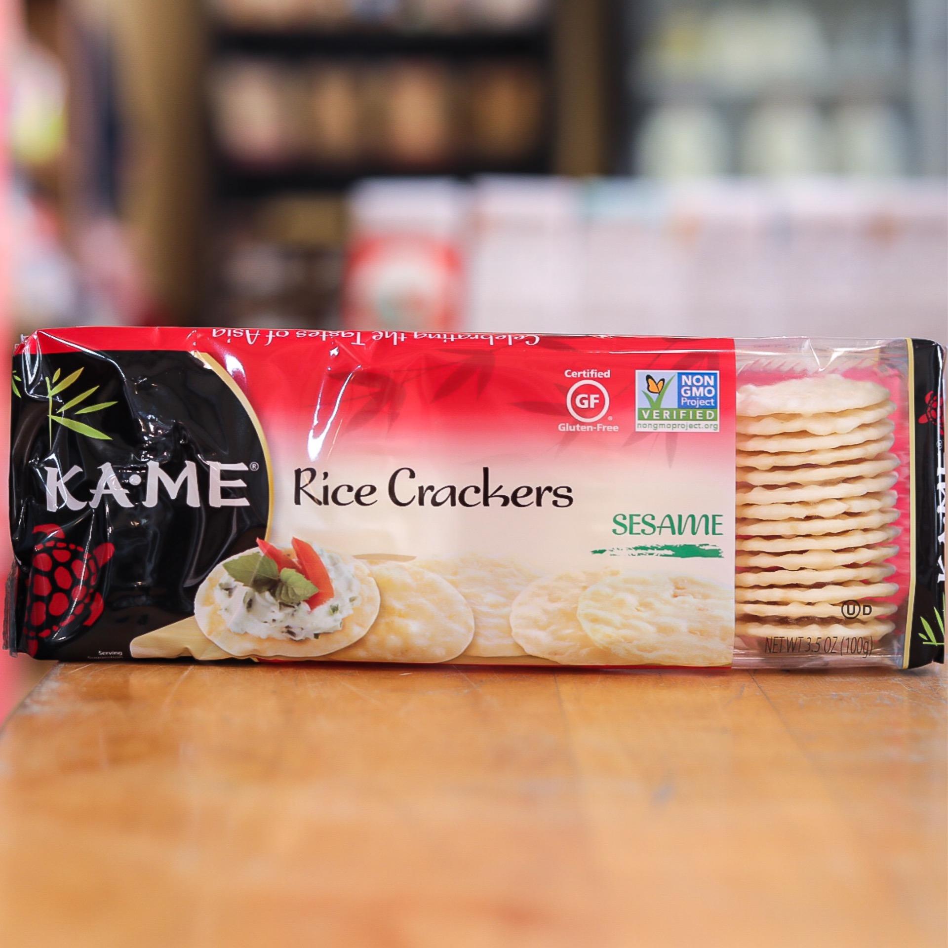 Ka Me Sesame Rice Crackers