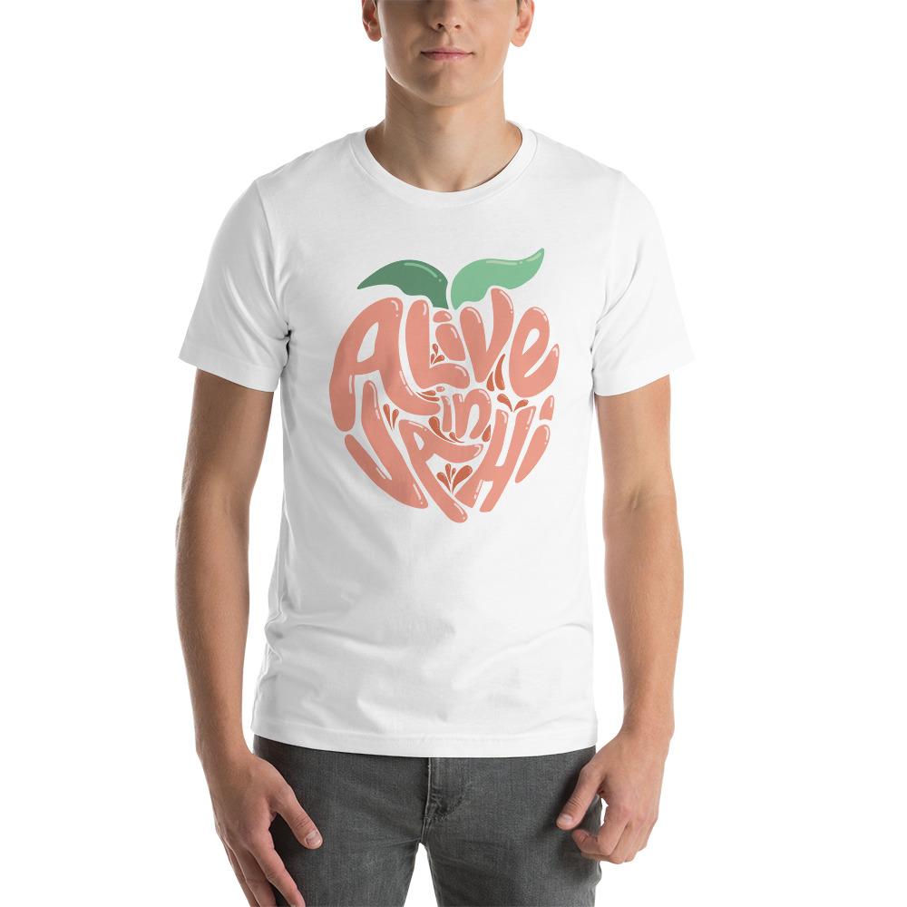 """Online Short-Sleeve Unisex """"Alive in VAHI"""" T-Shirt"""