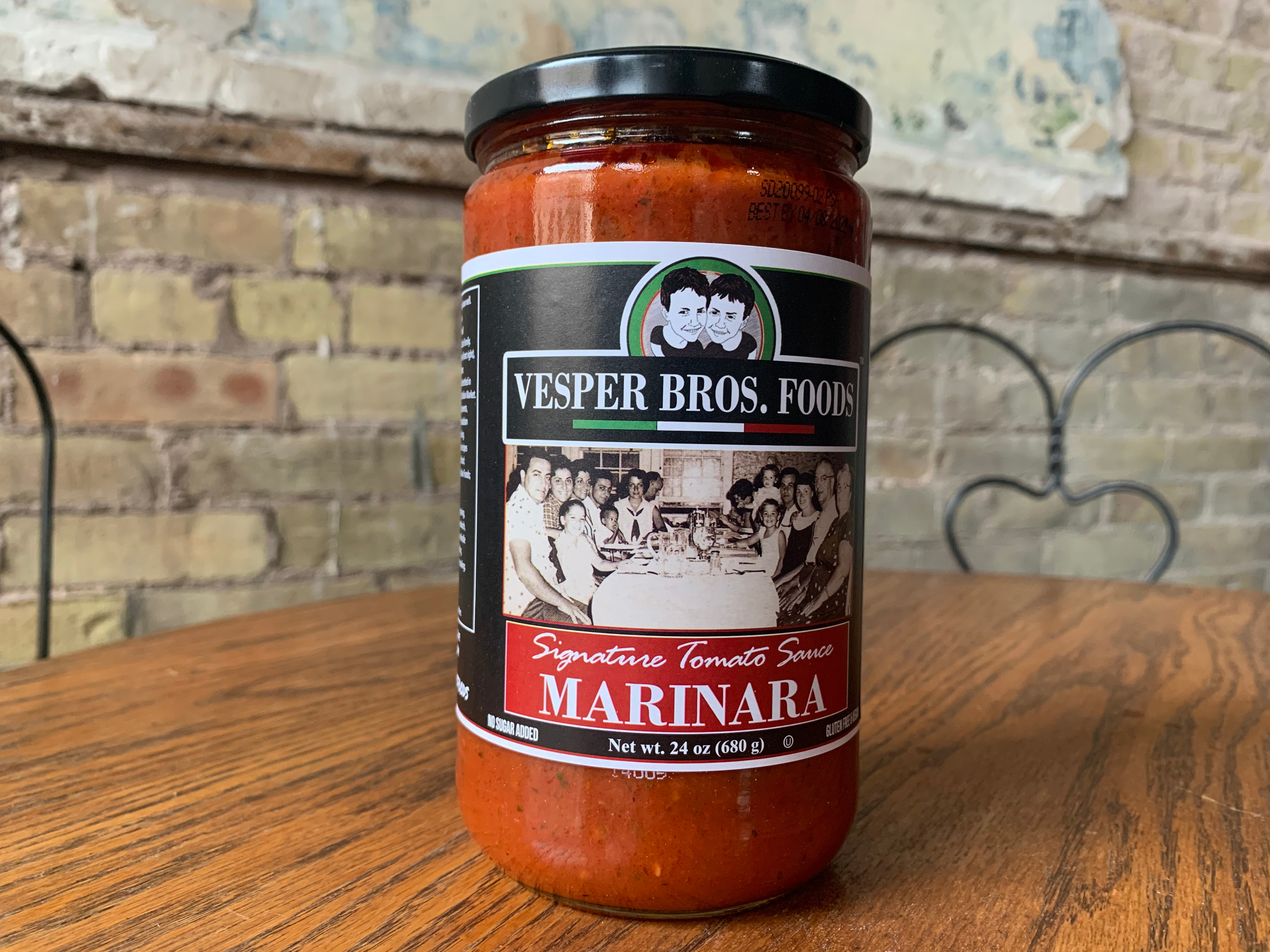 Vesper Bros. Foods - Marinara Sauce