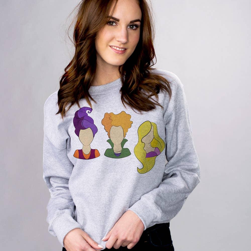 Hocus Pocus Heads Sweatshirt XL