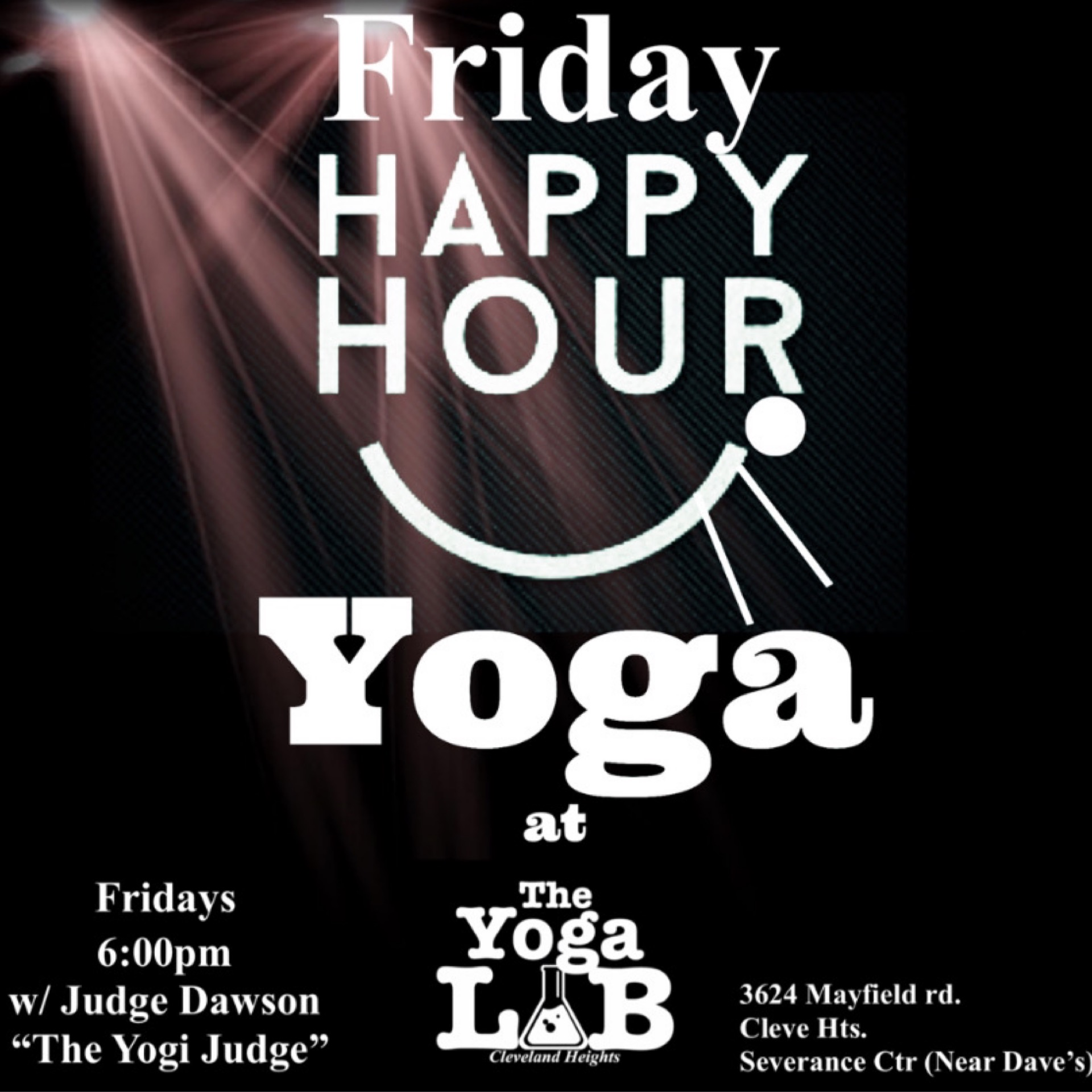 Happy Hour Fridays at The Yoga Lab