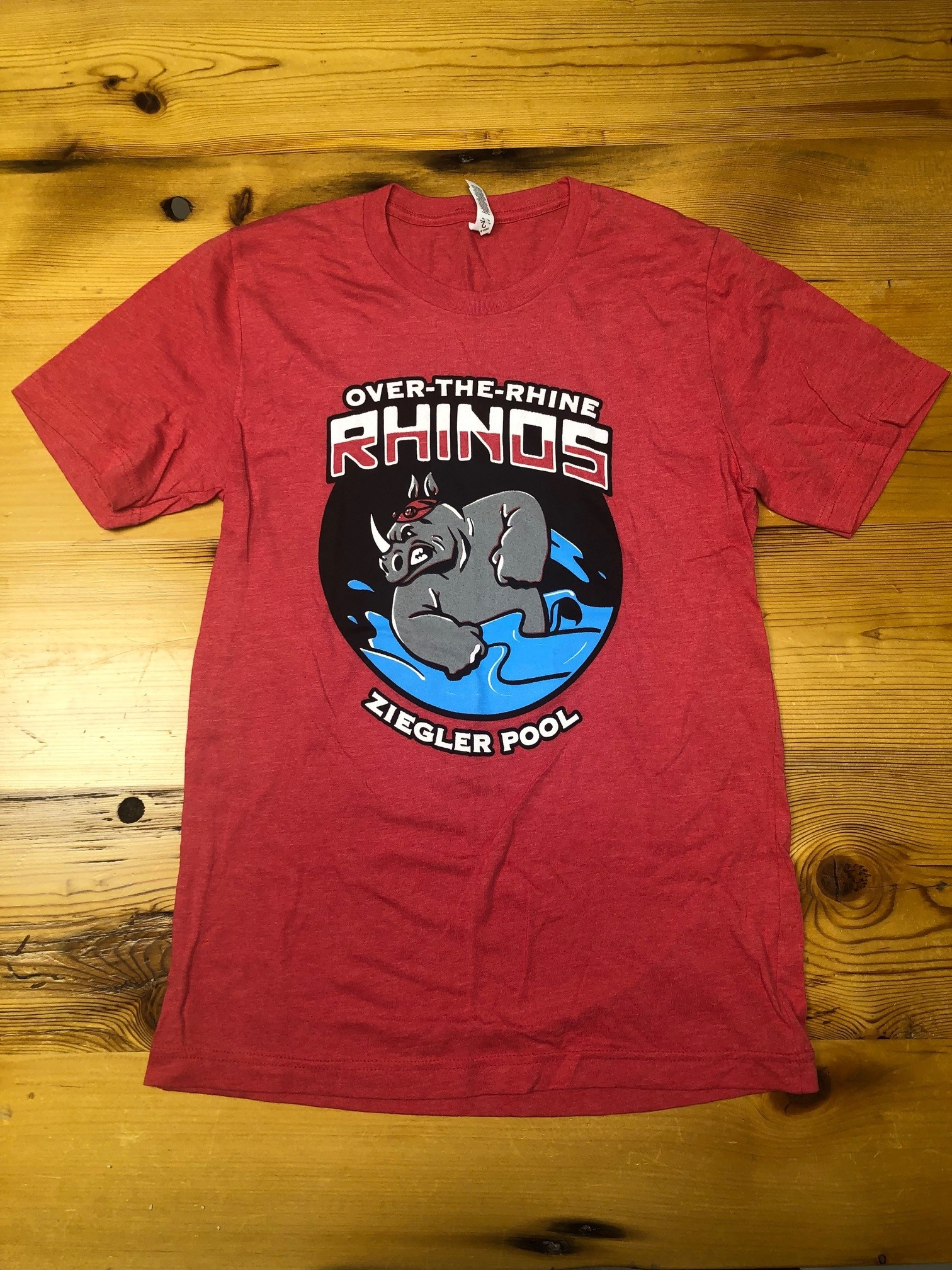 OTR Rhinos T-Shirt, Red