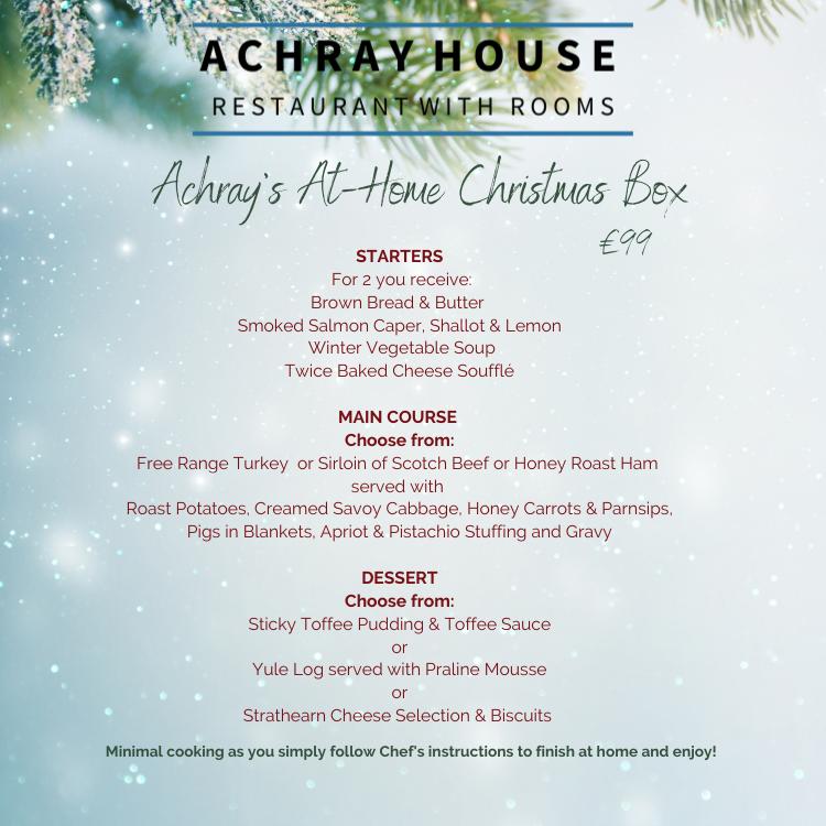 Achray's At-Home Christmas Box