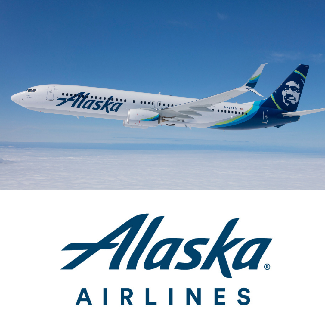 Alaska Airlines Raffle Ticket
