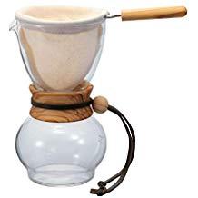 Hario Woodneck Drip Pot, 480ml, Olive Wo
