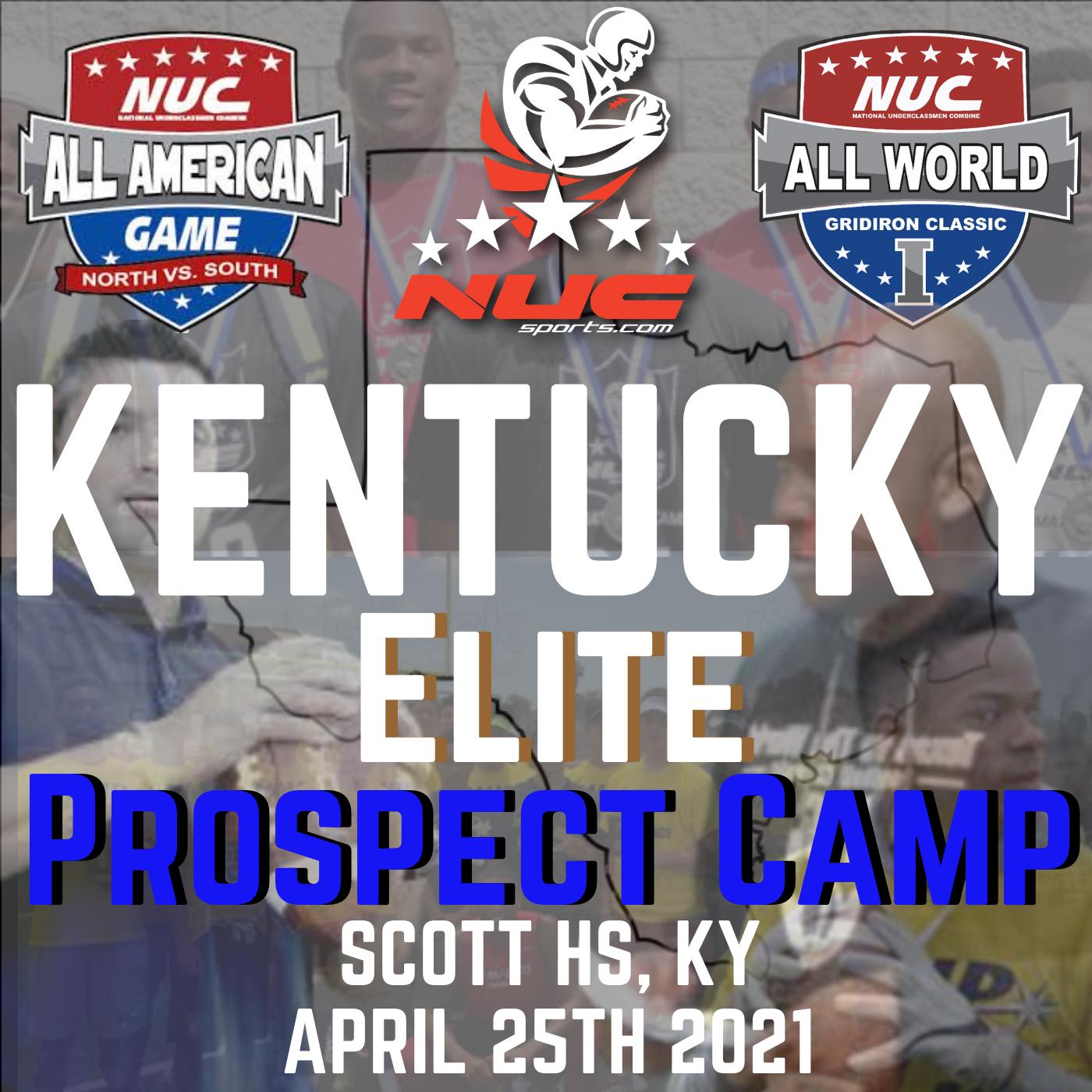 Coach Schuman's Kentucky Elite Football Prospect Camp, April  25th, 2021