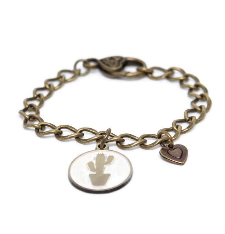 Can't Touch This Charm Bracelet