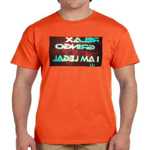 Fruit-Of-The-Loom-Relax-Gringo-I-am-Legal-Heavy-Cottom-Men's-T-Shirt