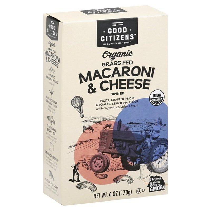Organic Mac & Cheese - Good Citizens