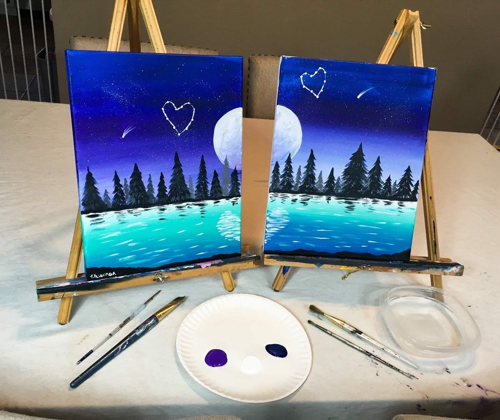 At-Home Paint Party Kits