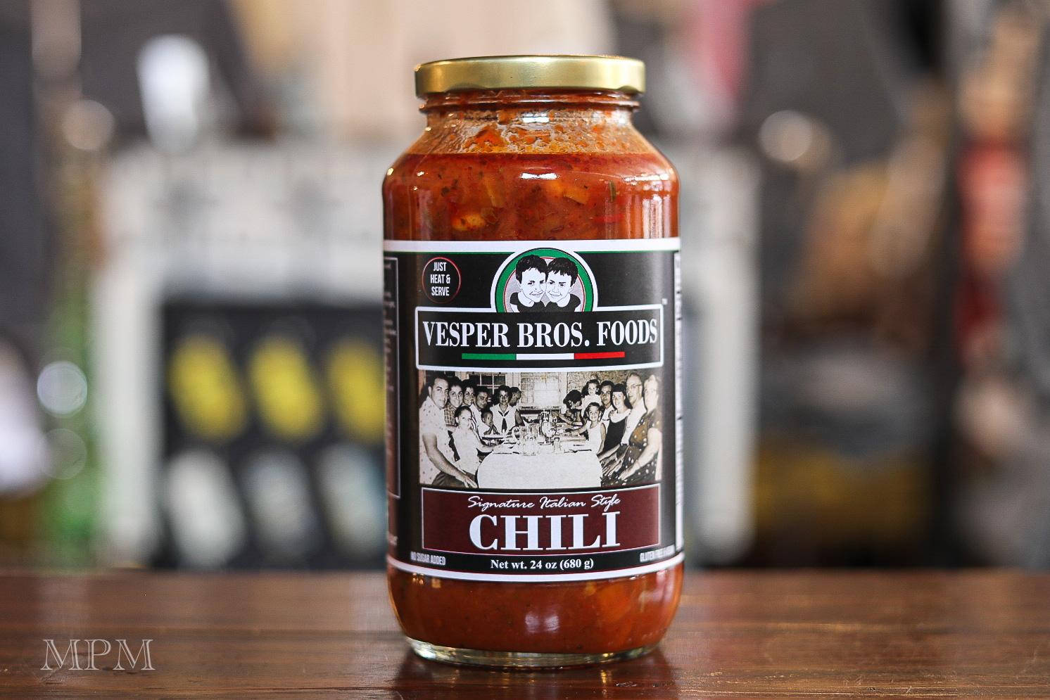 Vesper Bros Italian Style Vegetarian Chili