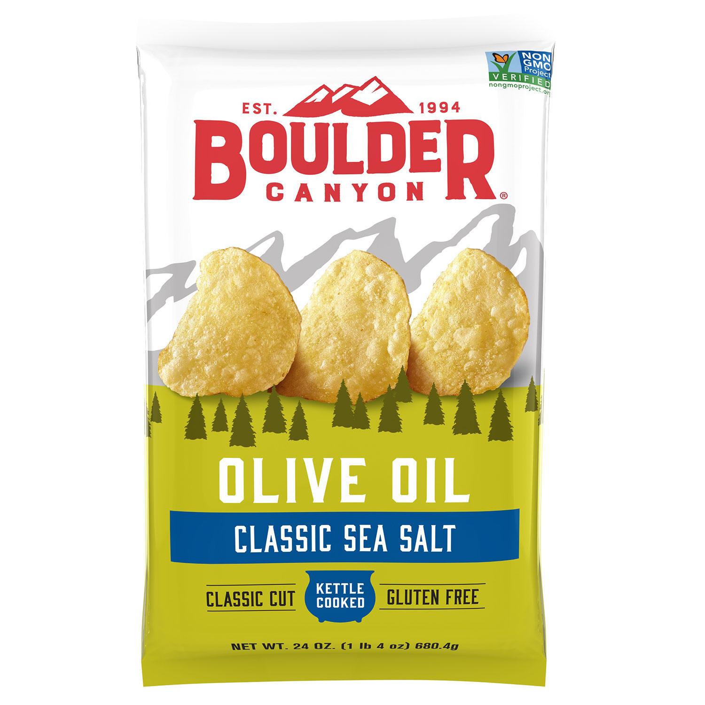 Boulder Canyon Olive Oil Kettle Chips