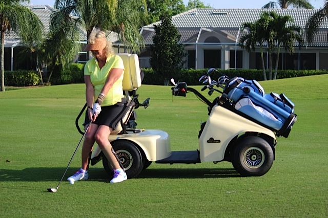 SoloRider Adaptive Golf Cart