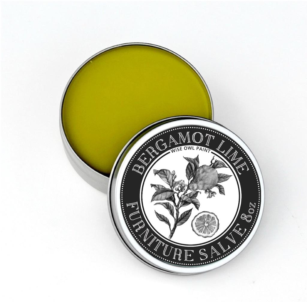 Wise Owl Furniture Salve - Bergamont Lime