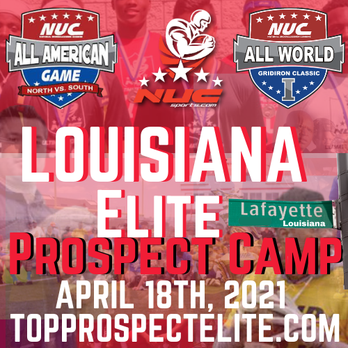 Coach Schuman's Central Louisiana Elite Prospect Camp, April 18th, 2021 Lafayette, LA, Westgate HS