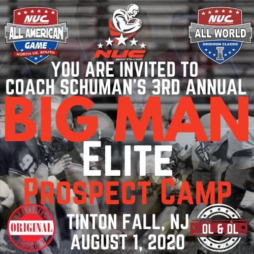 Coach Schuman's Big Man Elite Camp & Prospect Showdown, August 1, 2021 Tinton Falls, NJ