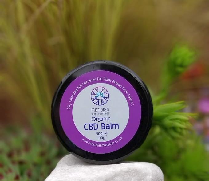 Meridian Plant Medicines - Organic CBD Balm 500mg