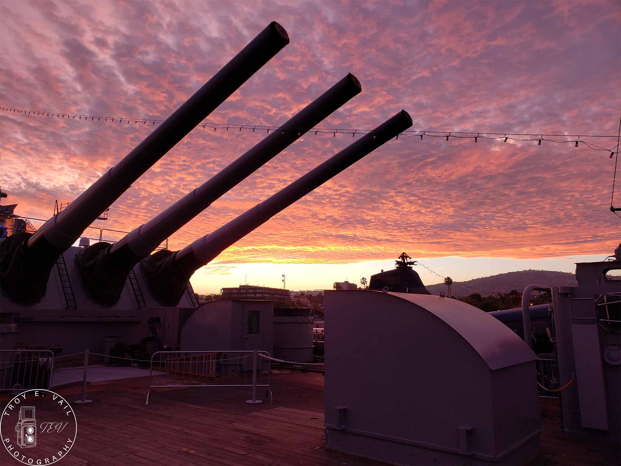 Photo Art - Sunset Turret 3 - Troy Vail Collection